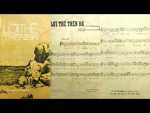 🎵 Lời Thề Trên Đá (Thanh Vũ, Hoài Linh) Thanh Vũ Pre 1975 | Tờ Nhạc Xưa