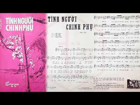 🎵 Tình Người Chinh Phụ (Song Ngọc) Thanh Tuyền Pre 1975 | Tờ Nhạc Xưa