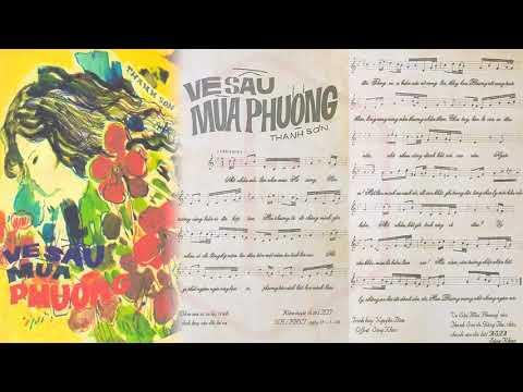 🎵 Ve Sầu Mùa Phượng (Thanh Sơn) Giáng Thu Pre 1975 | Tờ Nhạc Xưa