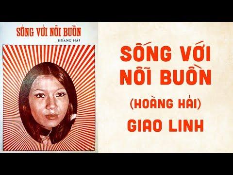 🎵 Sống Với Nỗi Buồn (Hoàng Hải) Giao Linh Pre 1975 | Bìa Nhạc Xưa