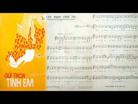 🎵 Gửi Trọn Tình Em (Nguyễn Hữu Thiết) Trúc Mai Pre 1975 | Tờ Nhạc Xưa