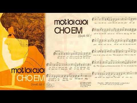 🎵 Một Lời Cuối Cho Em (Nguyễn Ánh 9) Elvis Phương Pre 1975 | Tờ Nhạc Xưa