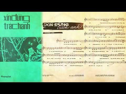 🎵 Xin Đừng Trách Anh (Phượng Linh) Hà Thanh, Thanh Vũ Pre 1975 | Tờ Nhạc Xưa