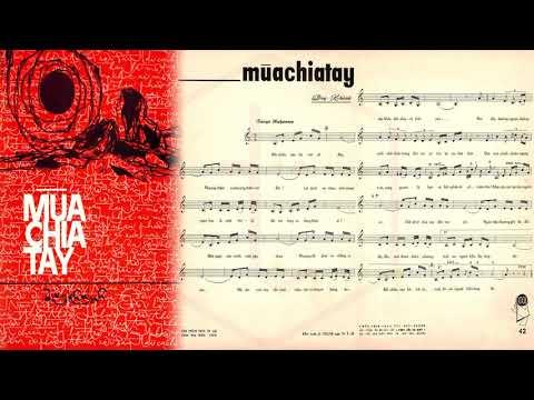 🎵 Mùa Chia Tay (Duy Khánh) Hoàng Oanh Pre 1975 | Tờ Nhạc Xưa