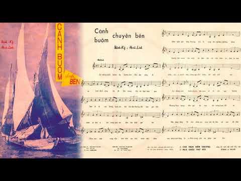🎵 Cánh Buồm Chuyển Bến (Hoài Linh, Minh Kỳ) Phương Dung Pre 1975 | Tờ Nhạc Xưa