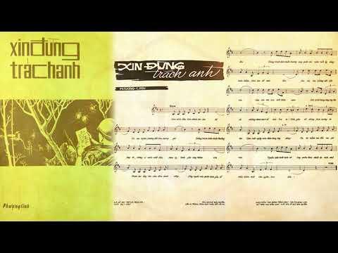 🎵 Xin Đừng Trách Anh (Phượng Linh) Hùng Cường Pre 1975 | Tờ Nhạc Xưa