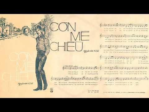 🎵 Cơn Mê Chiều (Nguyên Minh Khôi) Duy Trác Pre 1975 | Tờ Nhạc Xưa