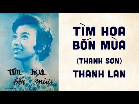 🎵 Tìm Hoa Bốn Mùa (Thanh Sơn) Thanh Lan Pre 1975 | Bìa Nhạc Xưa