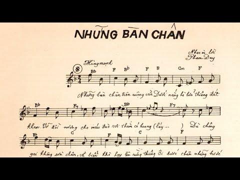 🎵 Những Bàn Chân (Phạm Duy) Duy Khánh Pre 1975 | Tờ Nhạc Xưa