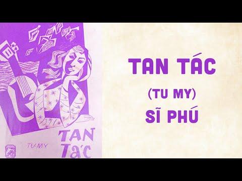 🎵 Tan Tác (Tu My) Sĩ Phú Pre 1975 | Bìa Nhạc Xưa