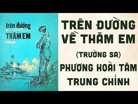 🎵 Trên Đường Về Thăm Em (Trường Sa) Phương Hoài Tâm, Trung Chỉnh Pre 1975 | Bìa Nhạc Xưa