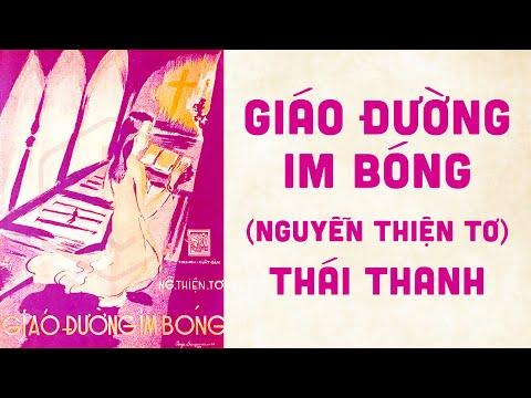 🎵 Giáo Đường Im Bóng (Nguyễn Thiện Tơ) Thái Thanh Pre 1975 | Bìa Nhạc Xưa