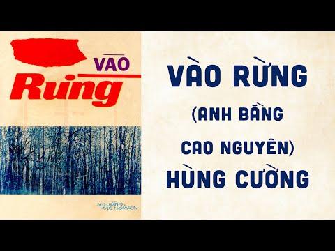 🎵 Vào Rừng (Anh Bằng, Cao Nguyên) Hùng Cường Pre 1975 | Bìa Nhạc Xưa