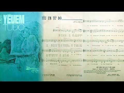 🎵 Yêu Em Từ Đó (Bằng Giang) Phương Hồng Quế Pre 1975 | Tờ Nhạc Xưa